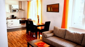 Двухкомнатная квартира в престижном районе Mariahilf в Вене