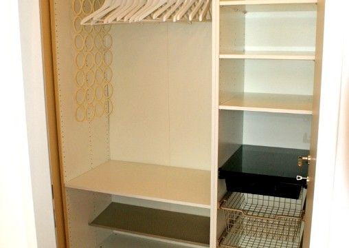 16. Begehbare Garderobe