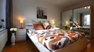 Апартамент с двумя спальнями в районе Mariahilf в центре Вены