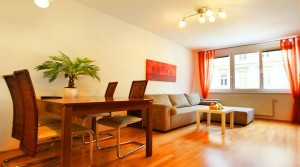 Двухкомнатный апартамент люкс в центре Вены