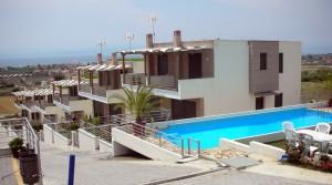 Пентхаус Нико, 112 кв.м. в комплексе «Панорама», Карьяни, Греция