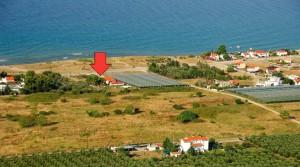 Частный дом 120 кв. м. на берегу моря в Карьяни, Греция