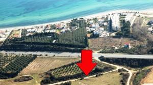 Участок для строительства площадью 4331 кв. м. в Карьяни, Греция