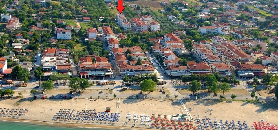 Квартира 63 кв.м. в самом центре Паралия Офринио, Греция
