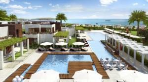 Квартиры в VIP комплексе закрытого типа Apolonia-Resort с частным пляжем на самом берегу моря г.Созополь, Болгария