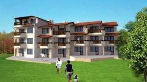 Квартиры в комплексе Морской бриз в городе Балчик, Болгария