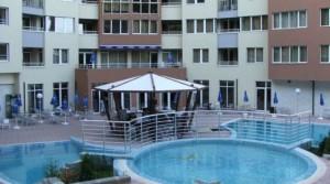 Квартиры в комплексе Никеа Парк на курорте Золотые пески, Болгария