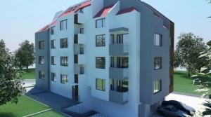 Квартиры в новом комплексе в центре города Царево в 500 м от пляжа, Болгария