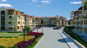 Квартиры в новом комплексе Hasienda Beach в 3 км от г.Созополь, Болгария