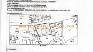 Участок земли для строительства жилого здания в районе Бриз г.Варна, Болгария