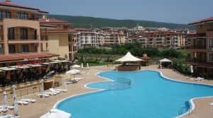 "One-bedroom apartment in complex ""Sky Dreams"", St. Vlas, Bulgaria"