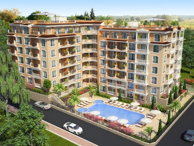 Apartments in complex Villa Sardinia, Saint Vlas, Bulgaria