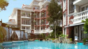 "Apartments in complex ""Messembria Resort"", Nessebar, Bulgaria"