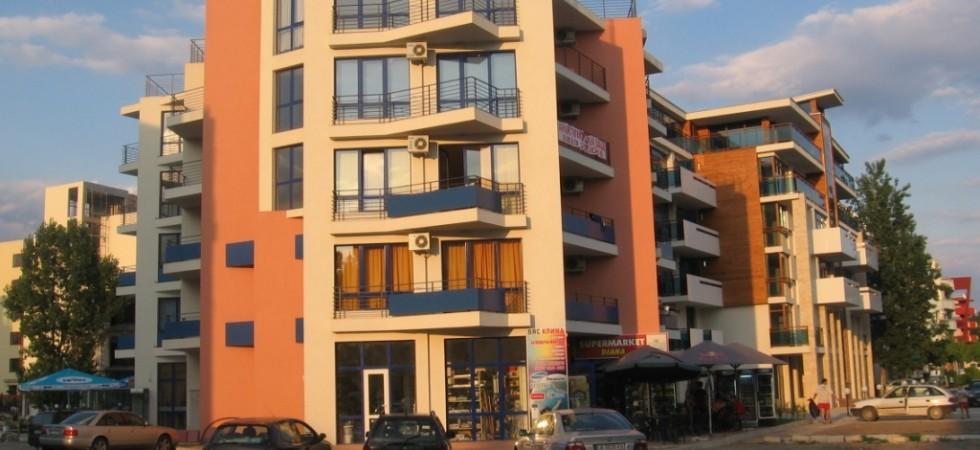 Апартамент в комплексе, Солнечный берег