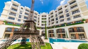 Апартаменты в комплексе «Романс Париж» на курорте Святой Влас, Болгария