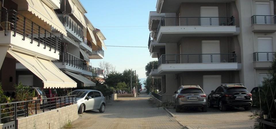 Отличная квартира 56 кв.м в центре Паралия Офринио, Греция
